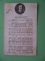 Russia 1910th Composer SCHUMANN, Song And Notes. Russian Postcard - Russie