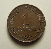 Portugal 1 Centavo 1921 - Portugal