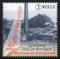 Belgium 2019 MNH, Neutral Moresnet Altenberg Kelmis, Map, Zinc Spar Mine Vieille Montagne - Fabbriche E Imprese