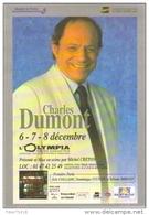 """Carte Postale édition """"Dix Et Demi Quinze"""" - Charles Dumont - L'Olympia (chanteur - Musicien) - Entertainers"""