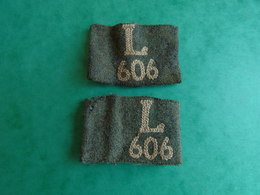 Authentique Paire De Passant Allemand Mle 40 Infanterie L 606 - 1939-45
