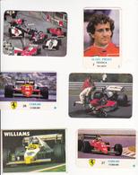 Espanha- 18 Calendários  -Automobilismo  -1985 -1986-1988 - Tamaño Pequeño : 2001-...