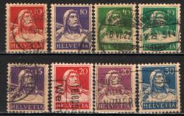 SVIZZERA - 1914 - GUGLIELMO TELL - USATI - Svizzera