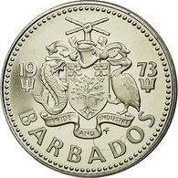 Monnaie, Barbados, 25 Cents, 1973, Franklin Mint, SUP+, Copper-nickel, KM:13 - Barbades