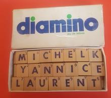 Jeux De Lettres DIAMINNO Modèle Standard ( Lettres En Bois ) Made In France - Brain Teasers, Brain Games