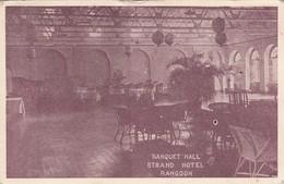 Rangoon - Strand Hotel - Banquet Hall - Myanmar (Burma)
