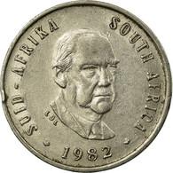 Monnaie, Afrique Du Sud, 5 Cents, 1982, TTB, Nickel, KM:111 - Afrique Du Sud
