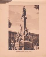 BOLIVIA. MONUMENTO A MURILLO. LA PAZ. ARNO HERMANOS. STA. CIRCA 1900s SIZE 15x18.5 - BLEUP - Lugares