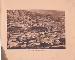 BOLIVIA. VISTA PARCIAL DE LA PAZ. ARNO HERMANOS. STA. CIRCA 1900s SIZE 15x18.5 - BLEUP - Lugares