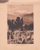 BOLIVIA. AVD ARCE. LA PAZ. ARNO HERMANOS. STA. CIRCA 1900s SIZE 15x18.5 - BLEUP - Lugares