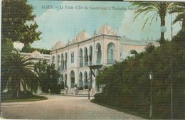 ALGER - Palais D'Eté Du Gouverneur à Mustapha Superieur, B/N - Algeri