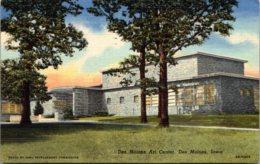 Iowa Des Moines Art Center 1950 Curteich - Des Moines