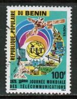 BENIN  Scott # 396 VF USED (Stamp Scan # 466) - Benin - Dahomey (1960-...)