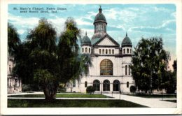 Indiana South Bend St Mary's Chapel Notre Dame