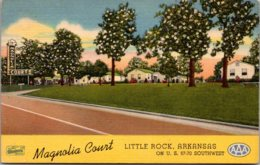 Arkansas Little Rock Magnolia Court Curteich - Little Rock