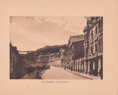 BOLIVIA, LA PAZ. AVD. TARAPACA. ARNO HERMANOS. STA. CIRCA 1900s SIZE 15x18.5 - BLEUP, - Lugares