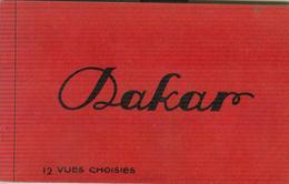 SENEGAL-DAKAR-12 VUES-B/N-EDITION MOREAU-DAKAR - - Senegal