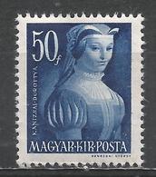 Hungary 1944. Scott #628 (M) Dorothy Kanuizsai * - Neufs