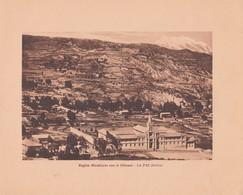 BOLIVIA, LA PAZ. REGION MIRAFLORES CON EL ILLIMANI. ARNO HERMANOS. STA. CIRCA 1900s SIZE 15x18.5 - BLEUP, - Lugares