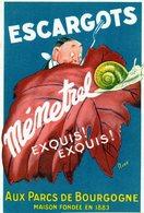 39 Escargots Menestrel Rare Et Unique Sur Delcampe Boucherans - France