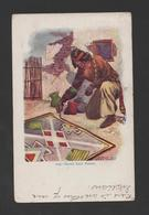 NATIVE INDIANS USA SACRED SAND PAINTER Year 1905 TAMMEN POSTCARD Stamp 1908 Xx - Amérique