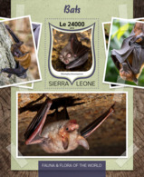 Sierra Leone 2016 Fauna  Bats - Sierra Leone (1961-...)