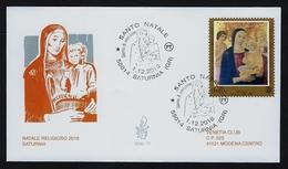 """2018 ITALIA """"NATALE RELIGIOSO"""" FDC VENETIA - 1946-.. République"""