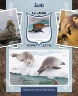 Sierra Leone 2016 Fauna Seals - Sierra Leone (1961-...)