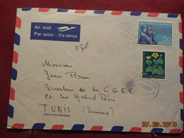 Lettre De 1959 A Destination De Tunis - Briefe U. Dokumente
