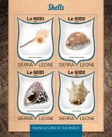 Sierra Leone 2016 Shells - Sierra Leone (1961-...)