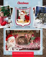 Sierra Leone 2016  Christmas  Santa Claus - Sierra Leone (1961-...)