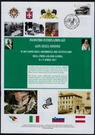 """2017 ITALIA """"CENTENARIO GRANDE GUERRA / INCONTRO INTERNAZIONALE ALPI SENZA CONFINI"""" FOLDER (ANN. GORIZIA) - Paquetes De Presentación"""