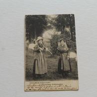 STAVELOT - Paysannes Ardennaises - D.V.D. N° 8989 -envoyée - Stavelot