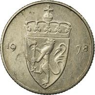 Monnaie, Norvège, Olav V, 50 Öre, 1978, TB, Copper-nickel, KM:418 - Norvège