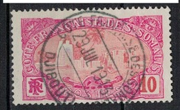 COTE DES SOMALIS        N°  YVERT    71  (1)            OBLITERE       ( O   3/ 23 ) - French Somali Coast (1894-1967)