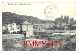 CPA - Le Bas De La Ville En 1911 - LAROCHE Luxembourg - N° 22 - Edit. J. Paquier à Laroche - Scans Recto-Verso - La-Roche-en-Ardenne