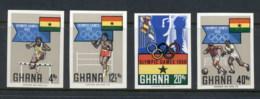 Ghana 1968 Summer Olympics Mexico City IMPERF MUH - Ghana (1957-...)