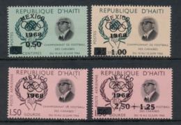 Haiti 1968 Summer Olympics Mexico City MUH - Haiti