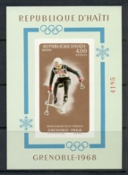 Haiti 1968 Winter Olympics Grenoble MS IMPERF MUH - Haiti
