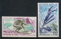 Chad 1968 Winter Olympics Grenoble MUH - Chad (1960-...)