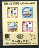 Iraq 1968 Summer Olympics Mexico City MS MUH - Iraq