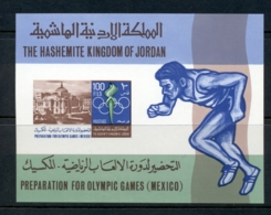 Jordan 1967 Summer Olympics Mexico City MS MUH - Jordan