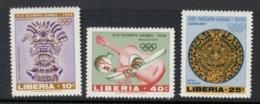 Liberia 1967 Summer Olympics Mexico City MUH - Liberia