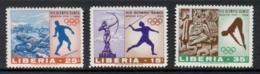 Liberia 1968 Summer Olympics Mexico City MUH - Liberia