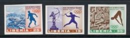 Liberia 1968 Summer Olympics Mexico City IMPERF MUH - Liberia