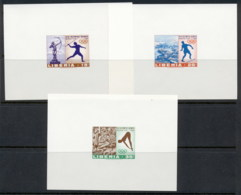 Liberia 1968 Summer Olympics Mexico City 3x Deluxe MS MUH - Liberia