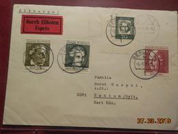 Lettre De 1970 A Destination De Rantum - BRD