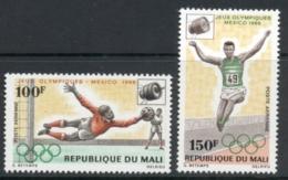 Mali 1968 Summer Olympics Mexico City MUH - Mali (1959-...)