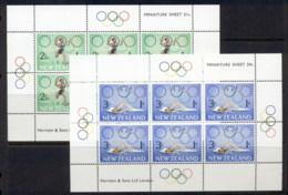 New Zealand 1968 Health Summer Olympics Mexico City 2xMS MUH - New Zealand