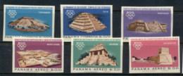 Panama 1967 Summer Olympics Mexico City Ruins IMPERF MUH - Panama